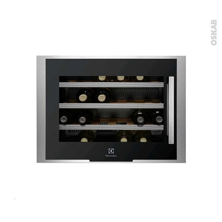 cave vin de service encastrable 45 cm inox electrolux. Black Bedroom Furniture Sets. Home Design Ideas