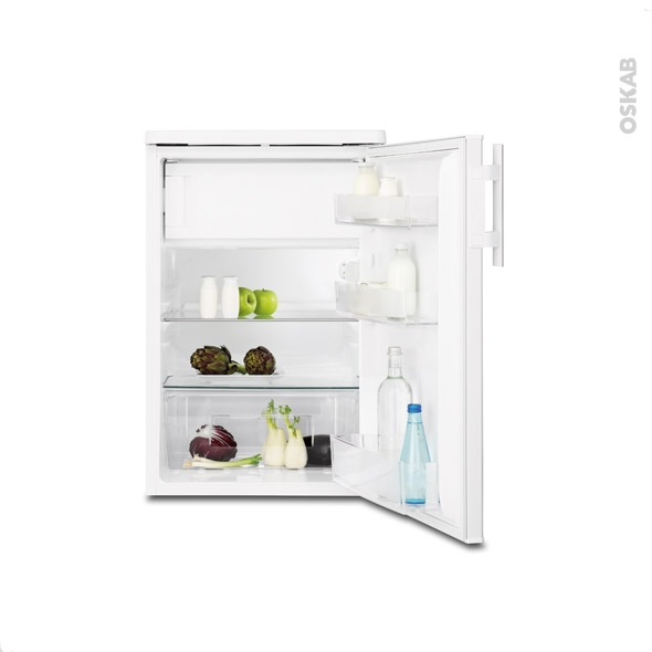 petit r frig rateur 136l sous plan 85 cm blanc electrolux ert1501fow3 oskab. Black Bedroom Furniture Sets. Home Design Ideas