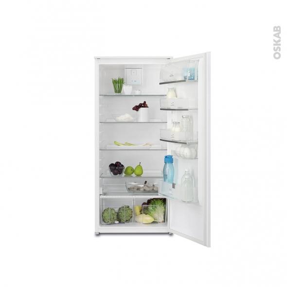 r frig rateur 122cm int grable 208l electrolux ern2212aow oskab. Black Bedroom Furniture Sets. Home Design Ideas