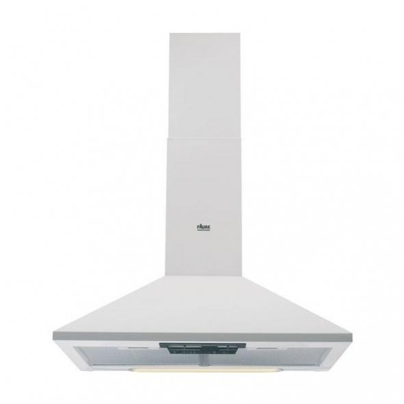 hotte de cuisine aspirante pyramide 60c m blanc faure fhc60131w1 oskab. Black Bedroom Furniture Sets. Home Design Ideas
