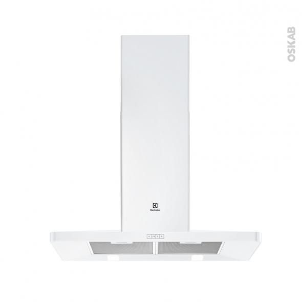 hotte pyramide 90cm blanc electrolux eff90462ow oskab. Black Bedroom Furniture Sets. Home Design Ideas