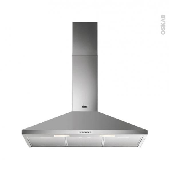 hotte de cuisine aspirante pyramide 90cm inox faure. Black Bedroom Furniture Sets. Home Design Ideas