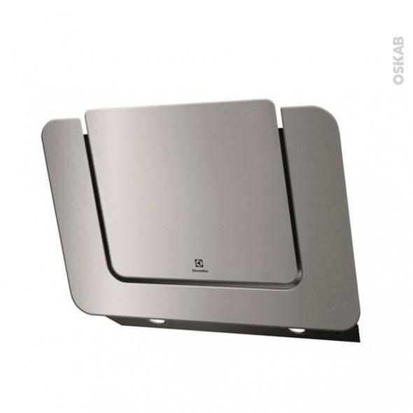 hotte inclin e 80cm inox electrolux efv80465ox oskab. Black Bedroom Furniture Sets. Home Design Ideas