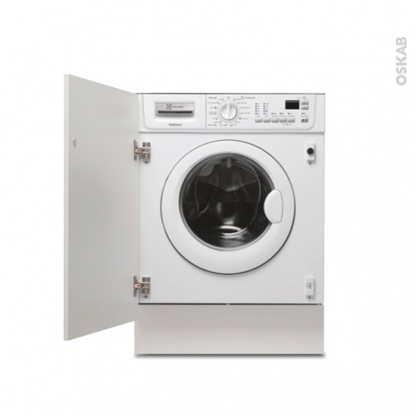 Lave linge 7 kg int grable 60 cm electrolux ewg127410w oskab - Lave linge dans cuisine ...