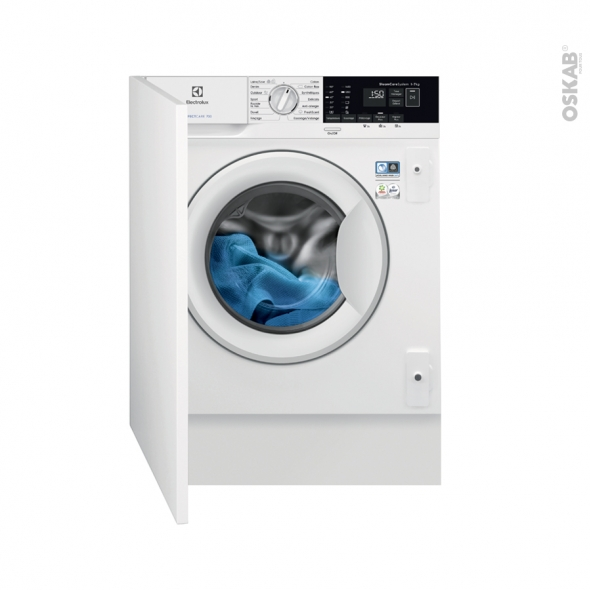 lave linge 60cm int grable 7kg electrolux ew7f1474bi oskab. Black Bedroom Furniture Sets. Home Design Ideas