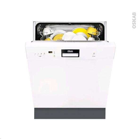 Lave vaisselle 13 couverts int grable 60 cm blanc faure for Mon lave vaisselle fuit