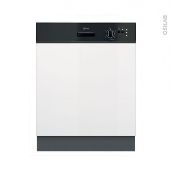 lave vaisselle 60cm int grable 13 couverts noir faure fdi22003na oskab. Black Bedroom Furniture Sets. Home Design Ideas