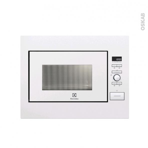 micro ondes 26l int grable 45cm blanc electrolux ems26004ow oskab. Black Bedroom Furniture Sets. Home Design Ideas