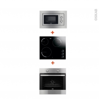 pack lectrom nager cuisine four plaque de cuisson oskab. Black Bedroom Furniture Sets. Home Design Ideas