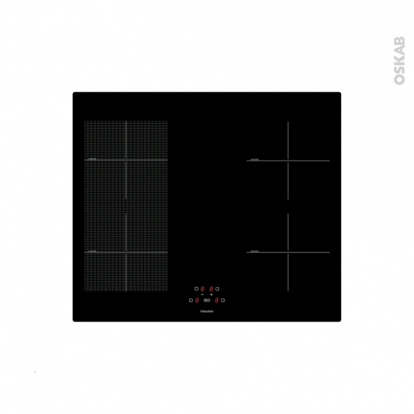 plaque de cuisson 4 feux plancha induction 60 cm verre noir frionor inductiongrill oskab. Black Bedroom Furniture Sets. Home Design Ideas