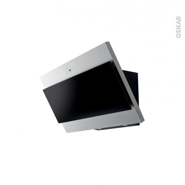hotte de cuisine aspirante inclin e 60 cm inox silverline. Black Bedroom Furniture Sets. Home Design Ideas