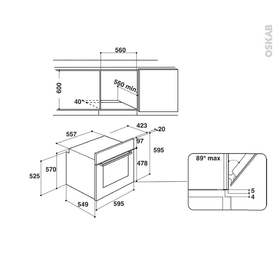 pack design assorti el ctrom nager encastrable inox four pyrolyse 71l micro ondes 22l indesit. Black Bedroom Furniture Sets. Home Design Ideas