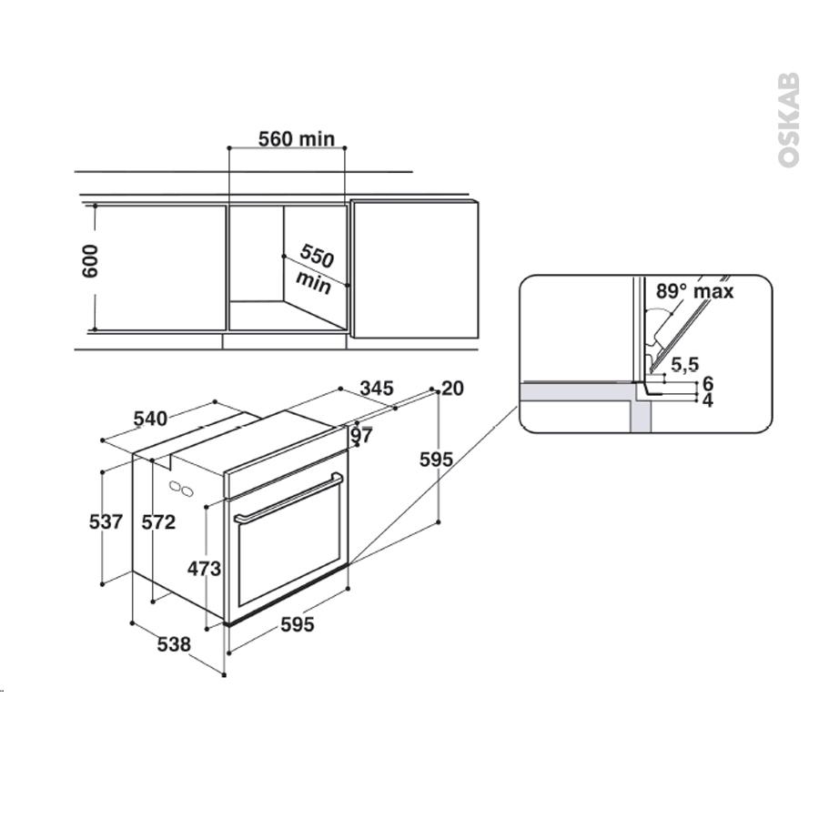 pack design assorti el ctrom nager encastrable noir four pyrolyse 73l micro ondes 31l whirlpool. Black Bedroom Furniture Sets. Home Design Ideas
