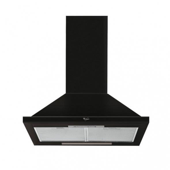 hotte pyramide 60cm noir whirlpool akr563nb oskab. Black Bedroom Furniture Sets. Home Design Ideas