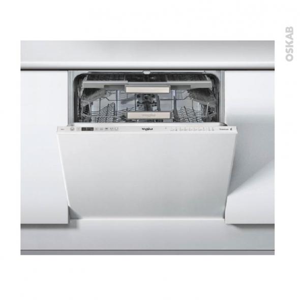 Lave vaisselle 14 couverts full int grable 60 cm whirlpool - Lave vaisselle 60 cm ...