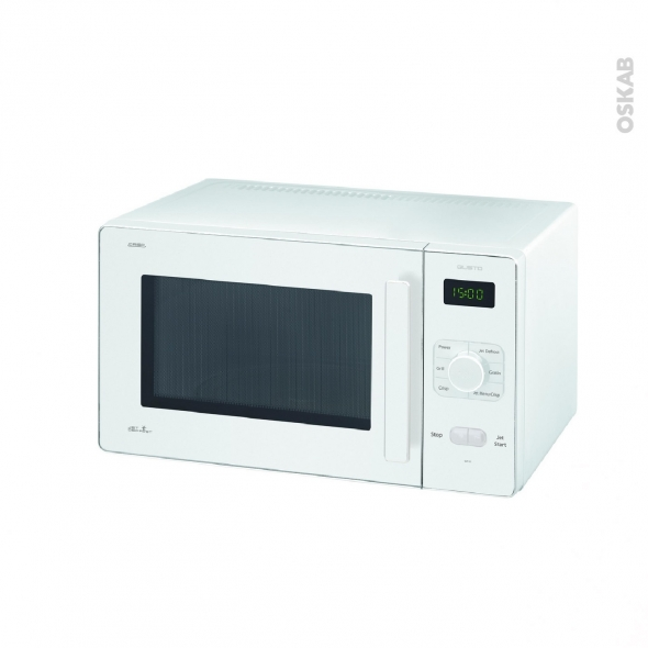 micro ondes 25l pose libre blanc whirlpool gt285wh oskab. Black Bedroom Furniture Sets. Home Design Ideas
