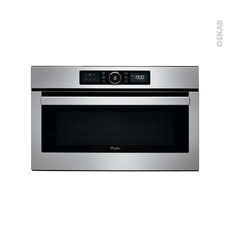 micro ondes grill int grable 38cm 31l inox whirlpool. Black Bedroom Furniture Sets. Home Design Ideas