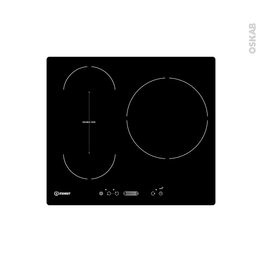 plaque de cuisson 3 feux induction 60 cm verre noir. Black Bedroom Furniture Sets. Home Design Ideas