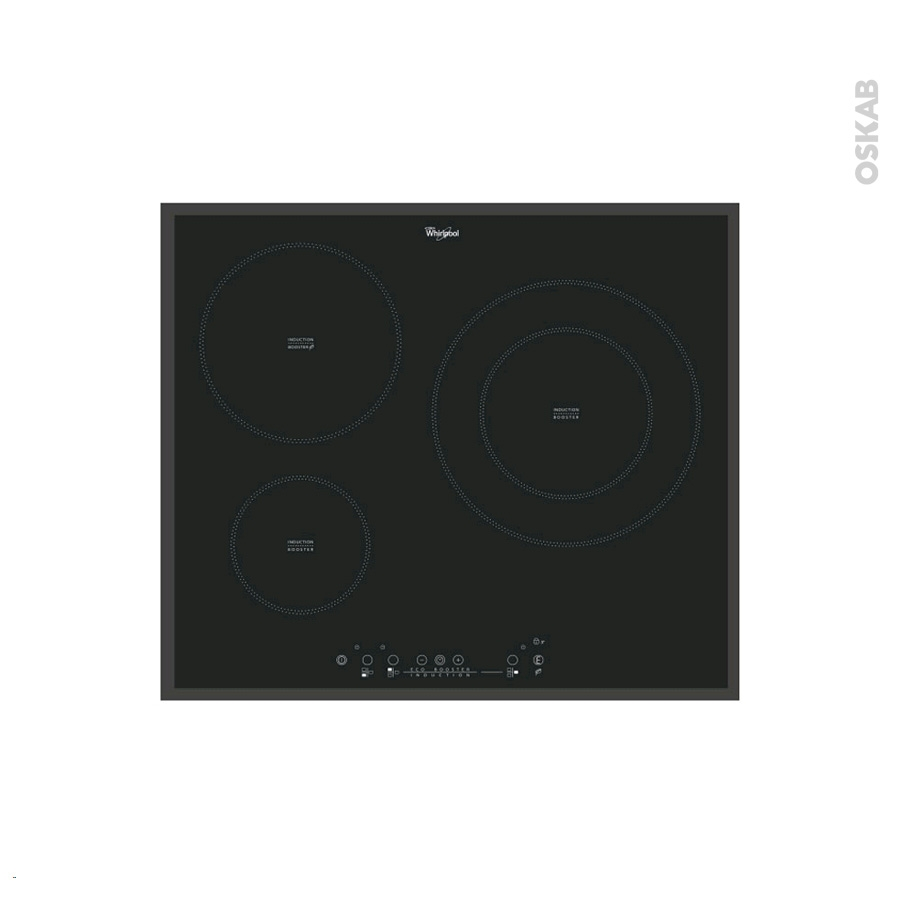 Plaque induction whirlpool table de cuisson induction - Plaque induction 4 feux ...