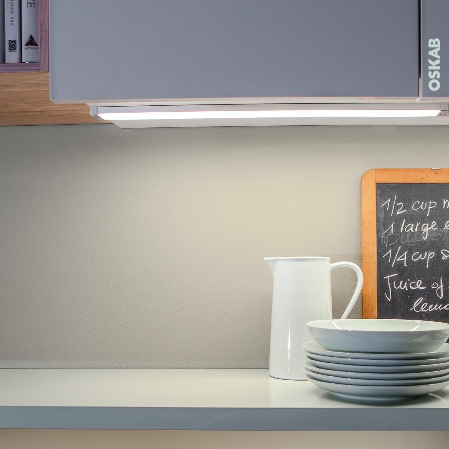 r glette de cuisine eclairage led rhea d tecteur de mouvement l37 cm oskab. Black Bedroom Furniture Sets. Home Design Ideas
