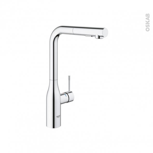 finest robinet de cuisine nouvel essence mitigeur avec douchette chrom grohe grohe with mitigeur. Black Bedroom Furniture Sets. Home Design Ideas