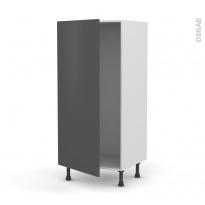 cuisine grise porte effet soft touch ginko gris mat oskab. Black Bedroom Furniture Sets. Home Design Ideas