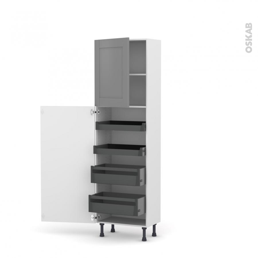colonne de cuisine n 2127 armoire de rangement filipen. Black Bedroom Furniture Sets. Home Design Ideas