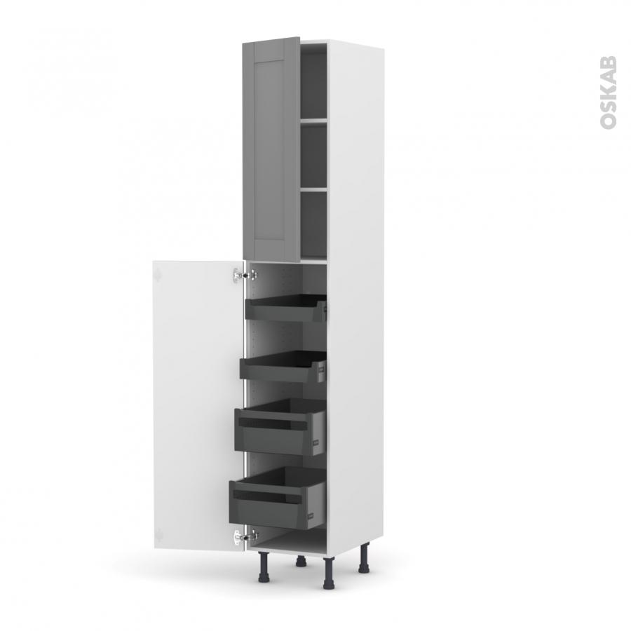 colonne de cuisine n 2326 armoire de rangement filipen. Black Bedroom Furniture Sets. Home Design Ideas