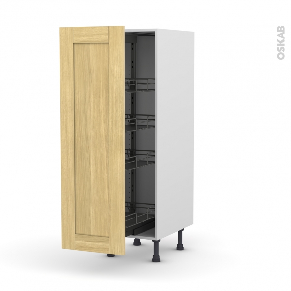 basilit bois brut armoire rangement n 26 4 paniers. Black Bedroom Furniture Sets. Home Design Ideas