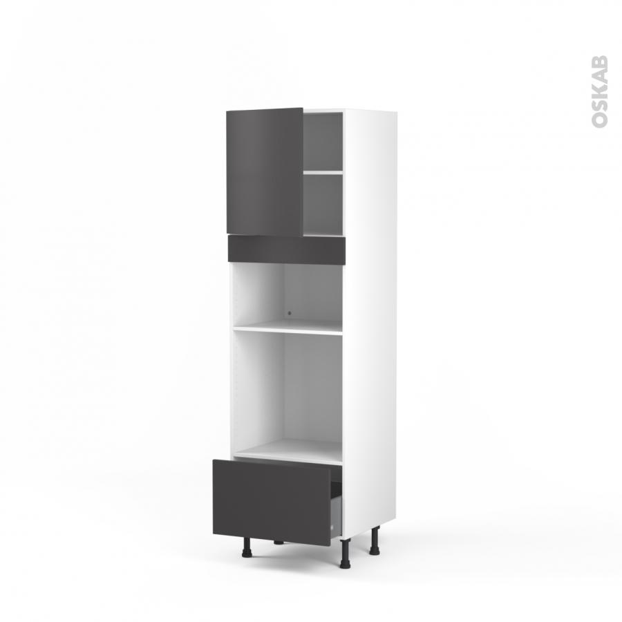 colonne de cuisine n 1610 four mo encastrable niche 36 38. Black Bedroom Furniture Sets. Home Design Ideas
