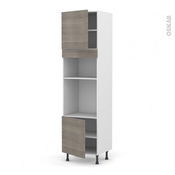 colonne de cuisine n 1616 four mo encastrable niche 36 38. Black Bedroom Furniture Sets. Home Design Ideas