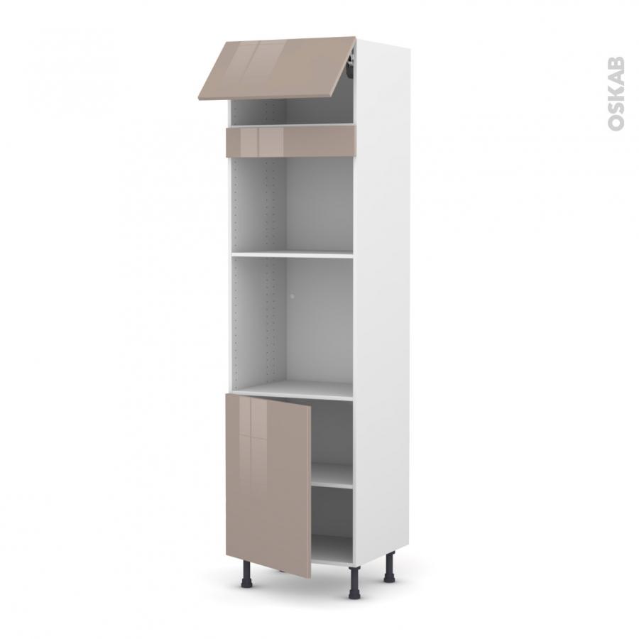 Colonne de cuisine n 1021 four mo encastrable niche 45 Boitier relevant pour double porte de meuble cuisine