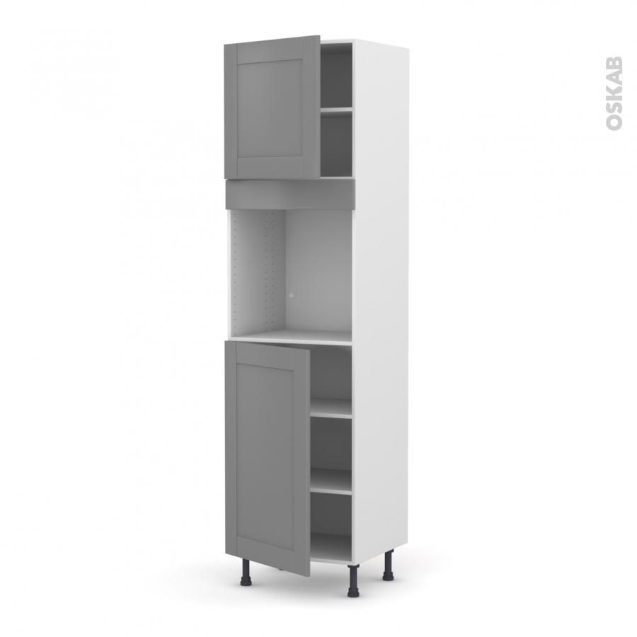 colonne de cuisine n 1624 four encastrable niche 60. Black Bedroom Furniture Sets. Home Design Ideas