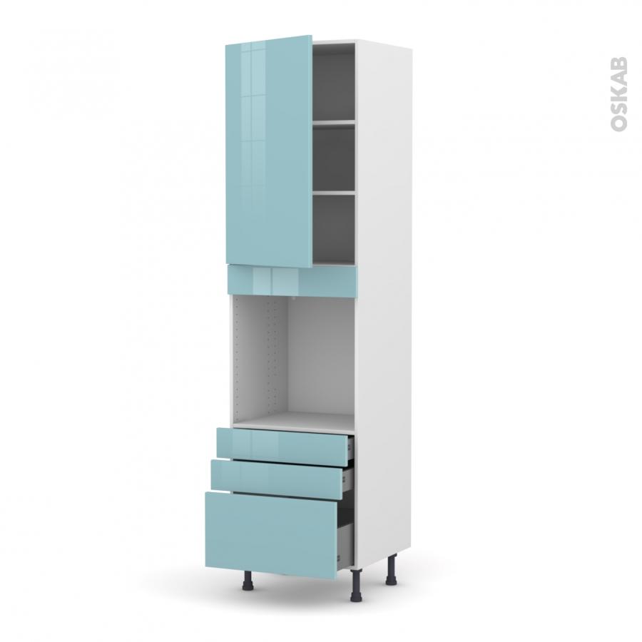colonne de cuisine n 2459 four encastrable niche 60 keria. Black Bedroom Furniture Sets. Home Design Ideas