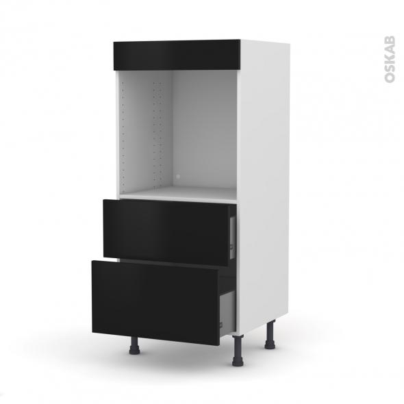 colonne de cuisine n 58 four encastrable niche 60 ginko. Black Bedroom Furniture Sets. Home Design Ideas