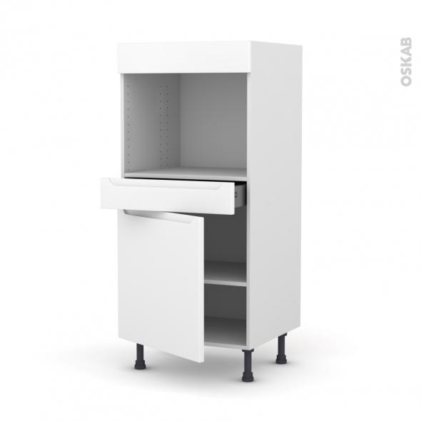Colonne de cuisine n 56 four encastrable niche 45 pima - Four encastrable porte tiroir ...