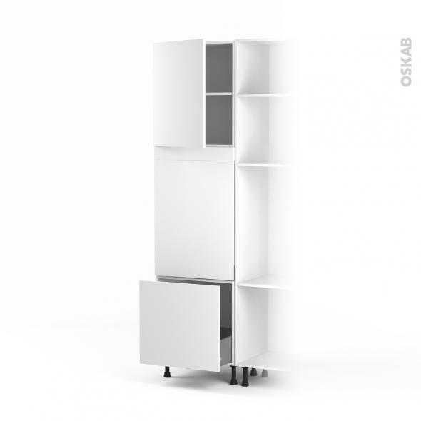 colonne lave vaisselle full int grable l60xh217xp58 helio. Black Bedroom Furniture Sets. Home Design Ideas