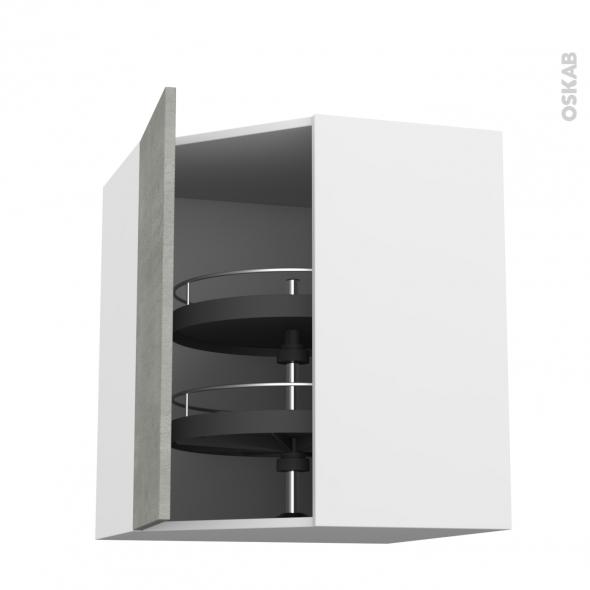Fakto b ton meuble angle haut tourniquet 1 porte n 19 l40 for Porte cuisine 40 60