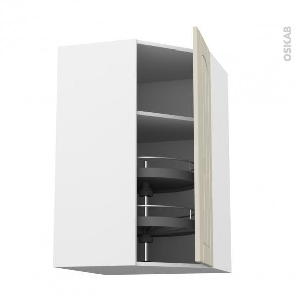 silen ivoire meuble angle haut tourniquet 1 porte n 19 l40 l65xh70xp37 droite oskab. Black Bedroom Furniture Sets. Home Design Ideas