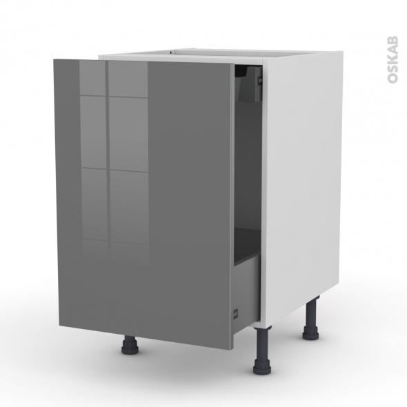 meuble bas coulissant 1 porte 1 tiroir anglaise. Black Bedroom Furniture Sets. Home Design Ideas