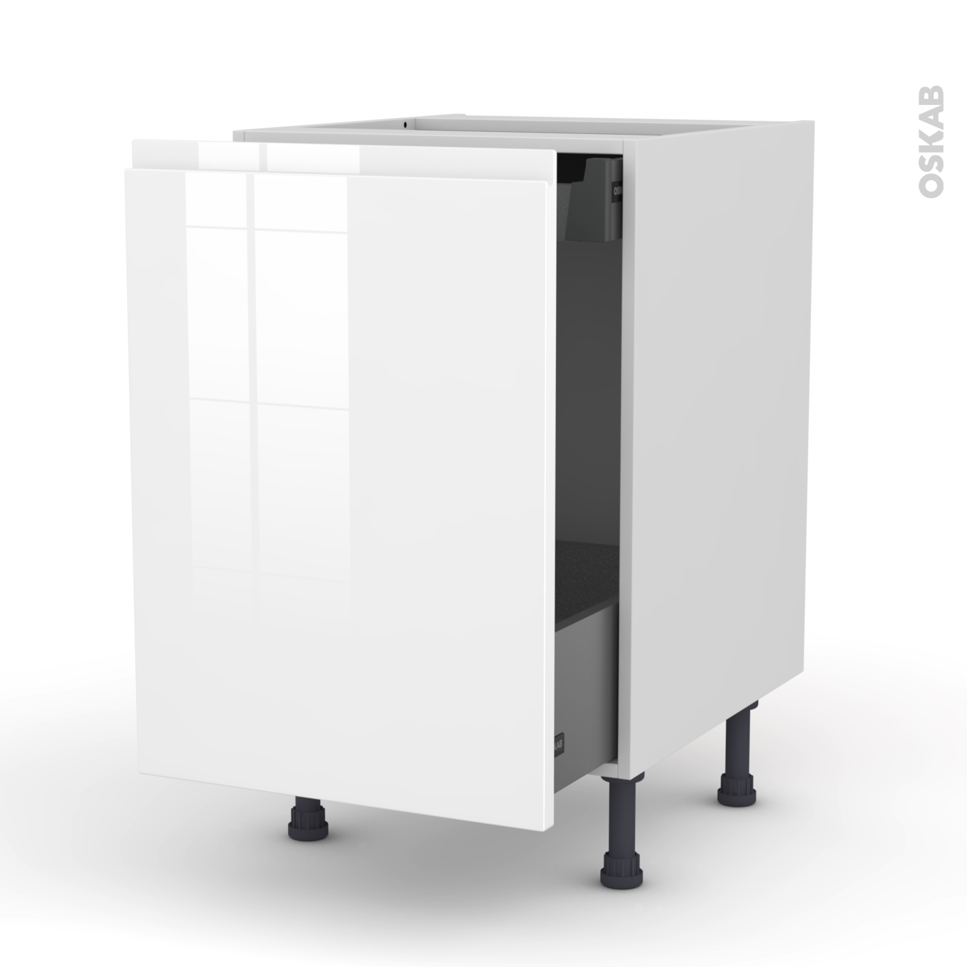 meuble bas plaque de cuisson affordable bas cm porte tiroir master dcor imitation chne with. Black Bedroom Furniture Sets. Home Design Ideas