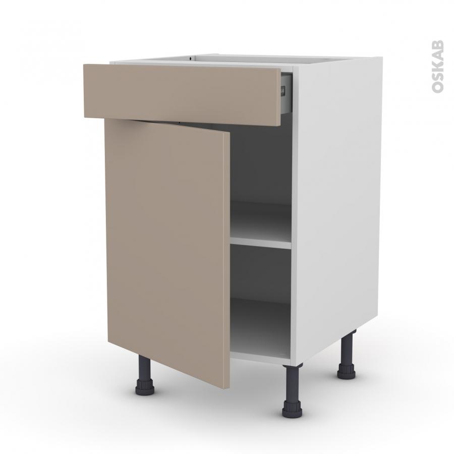 Meuble bas cuisine profondeur 50 cm cool meuble cuisine for Meuble bureau 50 cm