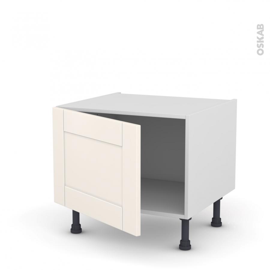 meuble de cuisine bas filipen ivoire 1 porte l60 x h41 x p58 cm oskab. Black Bedroom Furniture Sets. Home Design Ideas