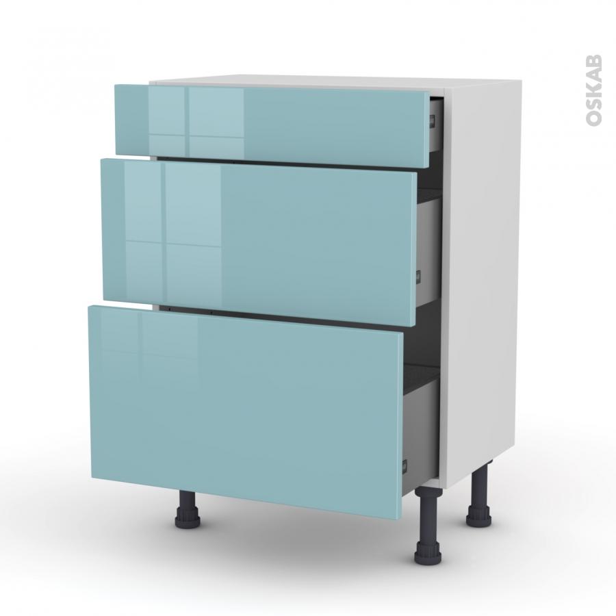 Meuble Bas 3 Tiroirs Maison Design