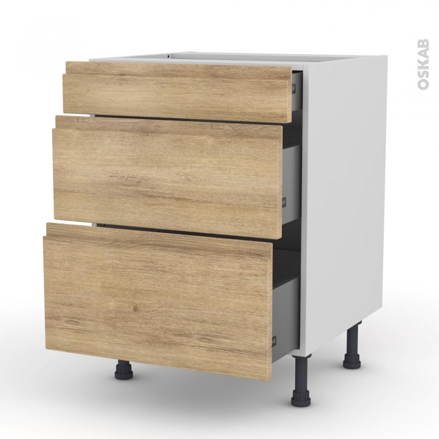 meuble de cuisine casserolier ipoma ch ne naturel 3. Black Bedroom Furniture Sets. Home Design Ideas