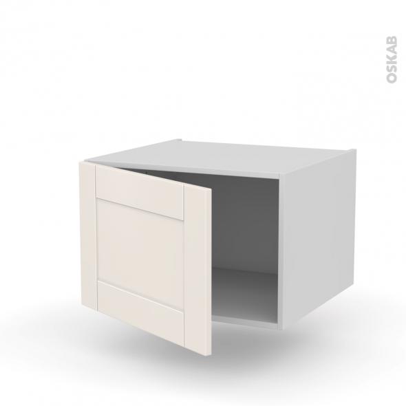 Meuble de cuisine haut ouvrant filipen ivoire 1 porte l60 for Fixer meuble haut cuisine