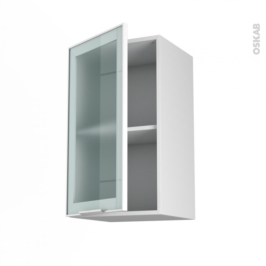 Meuble cuisine haut porte vitree meuble haut cuisine - Porte vitree pour meuble ...