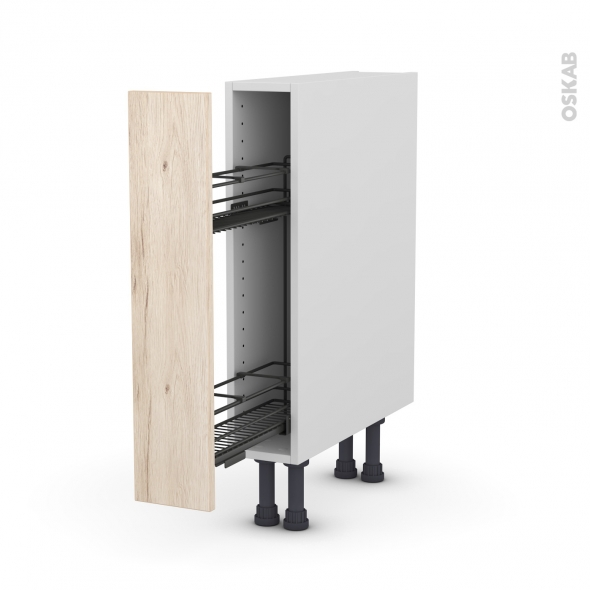 Meuble de cuisine range pice epoxy ikoro ch ne clair 1 for Modele meuble de cuisine