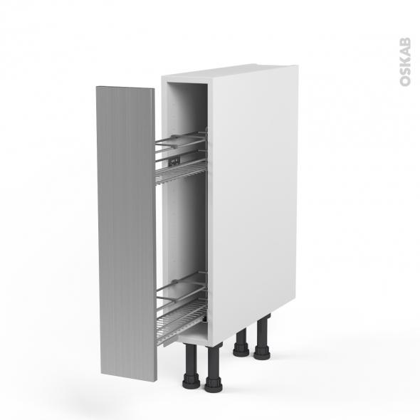 Meuble a epice coulissant photos de conception de maison for Accessoires meubles cuisine