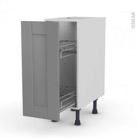 filipen gris meuble range pice epoxy 1 porte l30xh70xp58 oskab. Black Bedroom Furniture Sets. Home Design Ideas